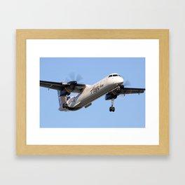 "Horizon Q400 ""Idaho"" livery Framed Art Print"