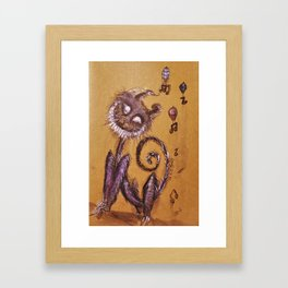 Humming Harmonies Framed Art Print