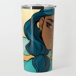 Mermista: Portrait of the most fed-up princess Travel Mug