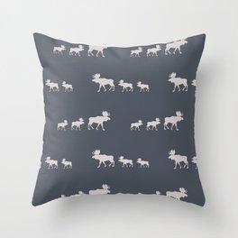 Moose (Lakeside) Throw Pillow