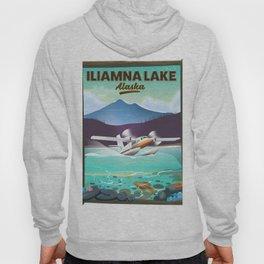 Iliamna Lake - alaska Hoody