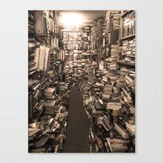 Book Store Canvas Print