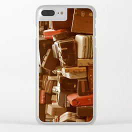 TOWER OF LUGGAGE Clear iPhone Case