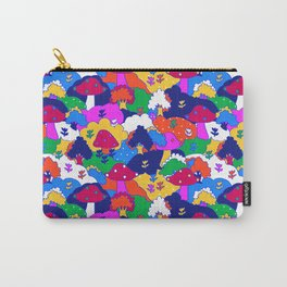 Trippy Hippie Hills Carry-All Pouch