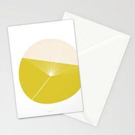 Retro Mod Flowers #3 by Friztin Stationery Cards