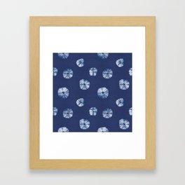 Kumo shibori II Framed Art Print