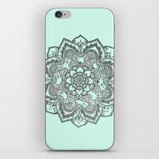 sea foam mandala iPhone & iPod Skin