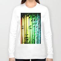 women Long Sleeve T-shirts featuring women  by new art