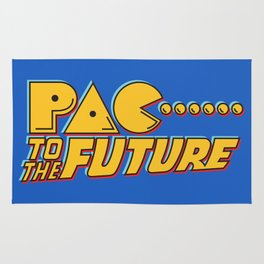 Pac to the Future Rug