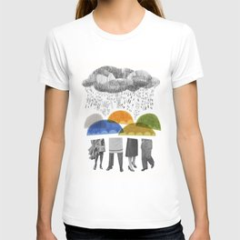 cloudy days for uppercase mag T-shirt