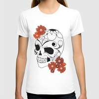 sugar skull T-shirts featuring Sugar Skull by Tanya Thomas
