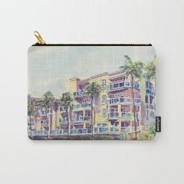 1500 E Ocean Blvd. Long Beach Carry-All Pouch