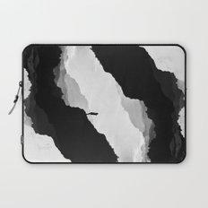 White Isolation Laptop Sleeve