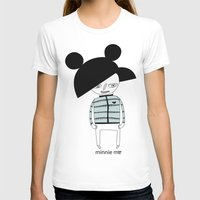 minnie T-shirts featuring MINNIE ME by Manola  Argento