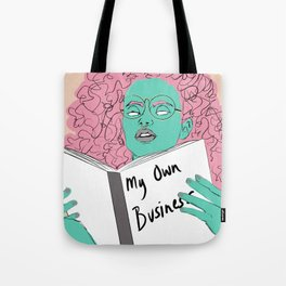 Mindful Business Tote Bag