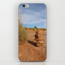 Stacked Rocks in Moab iPhone Skin
