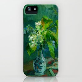 "Paul Gauguin ""Lilas"" iPhone Case"
