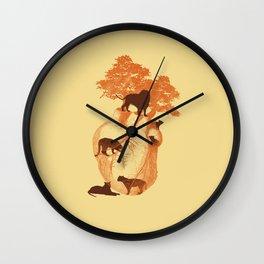 Lionheart Wall Clock