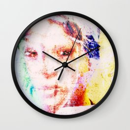 Distracted scatterbrain Wall Clock