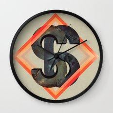 S6:  Society6 Universe Wall Clock