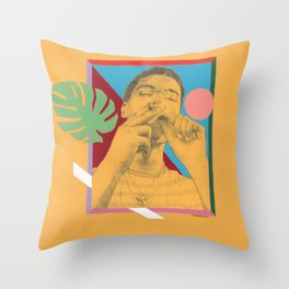 blaze et Throw Pillow