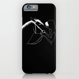 Horse Pony Equestrian Sports Horseback Riding iPhone Case