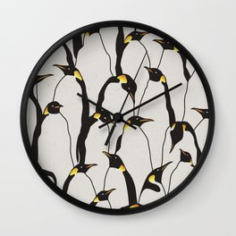 Penguin Patch Wall Clock