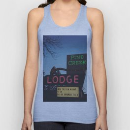 Pine Creek Lodge Unisex Tank Top