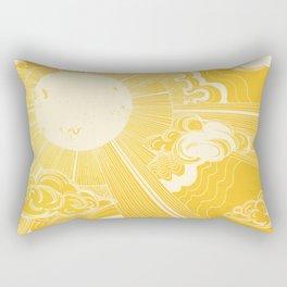 Solar Flare Rectangular Pillow