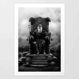 IV. The Emperor (Version II) Art Print