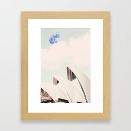 Sydney, Australia Travel Poster 3 Framed Art Print