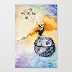 Petit Darth Canvas Print