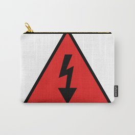 electric current danger signal Carry-All Pouch