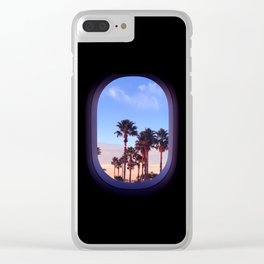 The View From There Clear iPhone Case