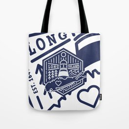 Long Island Crest Tote Bag