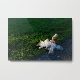 the first time Metal Print