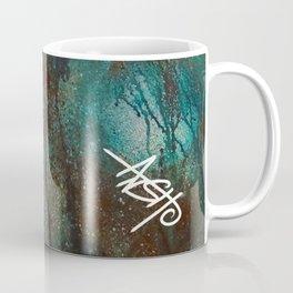 Blue spheres and tears V Coffee Mug