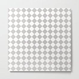 Sexy Checkers Metal Print
