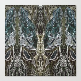 Forest lace Canvas Print