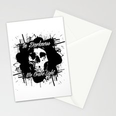 In Darkness, We Crave Light Stationery Cards