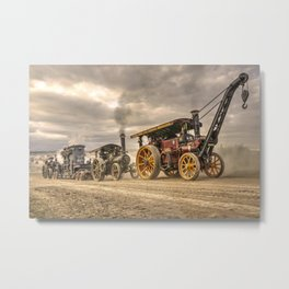 Traction Power Metal Print