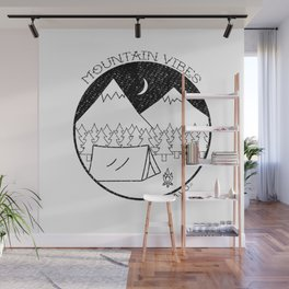 Mountain Vibes Wall Mural