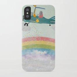 creating rainbows iPhone Case