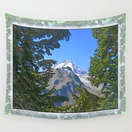 MOUNT BAKER FROM KULSHAN RIDGE Wall Tapestry