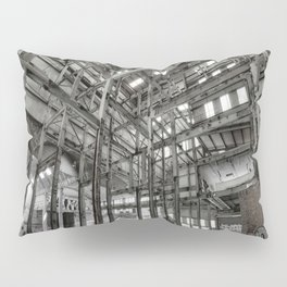 Metallic Structures Pillow Sham