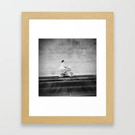 Stranger, who are you? Framed Art Print