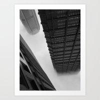 Pittsburgh Fog Art Print