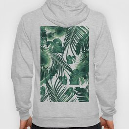 Tropical Jungle Leaves Dream #3 #tropical #decor #art #society6 Hoody
