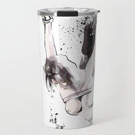 Shibari - Japanese BDSM Art Painting #15 Travel Mug