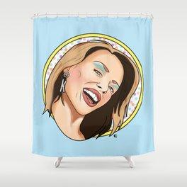 Australia's Princess of Pop Shower Curtain
